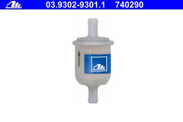 ATE (НОМЕР: 03.9302-9301.1) Фильтр, ус-во наполнения/удаления воздуха (торм. гидросист.)