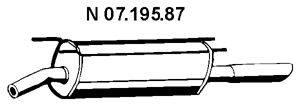 Глушитель выхлопных газов конечный EBERSPÄCHER 07.195.87