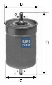Топливный фильтр UFI 3150000