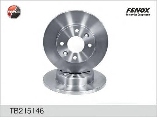 Тормозной диск FENOX TB215146