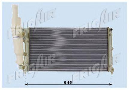 Радиатор, охлаждение двигателя FRIGAIR 0104.3003