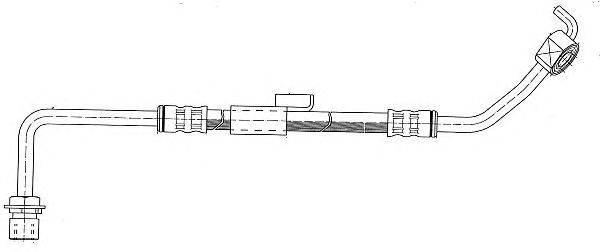 Тормозной шланг CEF 510547