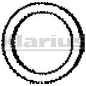 Прокладка, труба выхлопного газа KLARIUS 410041