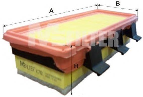MFILTER (НОМЕР: K 781) Воздушный фильтр