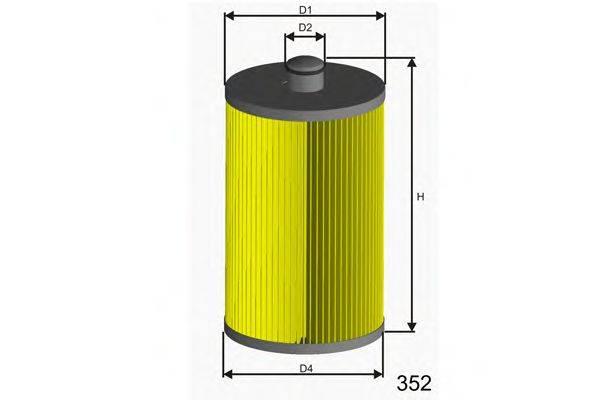 Топливный фильтр MISFAT F012