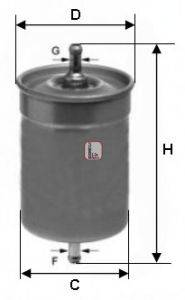 SOFIMA (НОМЕР: S 1500 B) Топливный фильтр