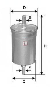 SOFIMA (НОМЕР: S 1710 B) Топливный фильтр