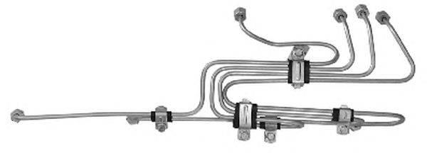 Комплект трубопровода высокого давления, система впрыска TRUCKTEC AUTOMOTIVE 01.13.150
