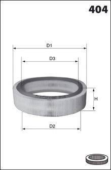 Воздушный фильтр MECAFILTER 210