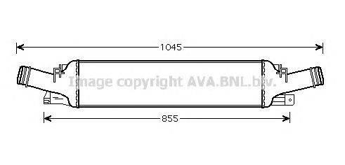 Интеркулер AVA QUALITY COOLING AI4294