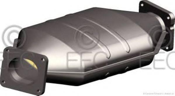 Сажевый / частичный фильтр, система выхлопа ОГ EEC DPF044