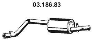 Глушитель выхлопных газов конечный EBERSPÄCHER 03.186.83