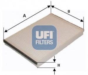 Фильтр, воздух во внутренном пространстве UFI 5320600