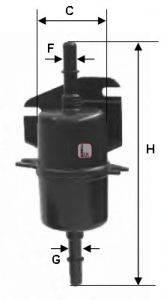 SOFIMA (НОМЕР: S 1740 B) Топливный фильтр