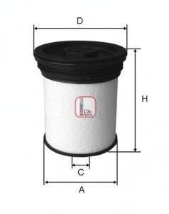 SOFIMA (НОМЕР: S 1019 NE) Топливный фильтр