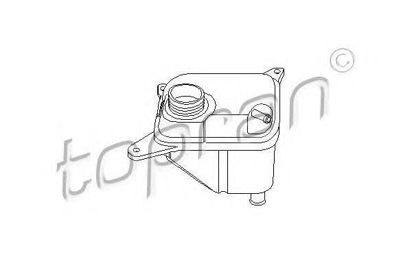 Компенсационный бак, охлаждающая жидкость TOPRAN 104 390