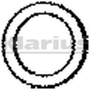 Прокладка, труба выхлопного газа KLARIUS 410211