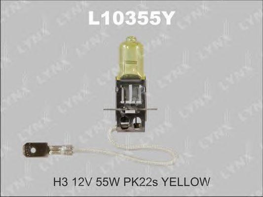 Лампа накаливания, противотуманная фара LYNXauto L10355Y