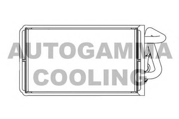 Теплообменник, отопление салона AUTOGAMMA 102443