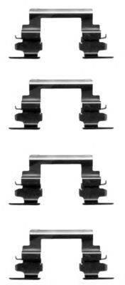 Комплектующие, колодки дискового тормоза MINTEX MBA1236