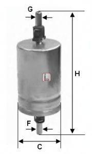 SOFIMA (НОМЕР: S 1510 B) Топливный фильтр