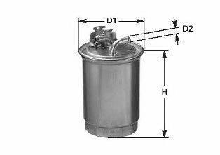 Топливный фильтр CLEAN FILTERS DN 829
