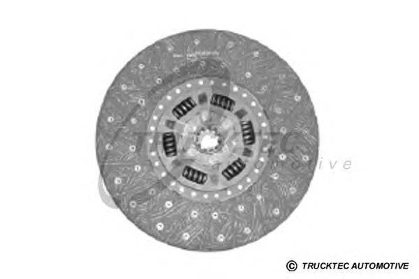 Диск сцепления TRUCKTEC AUTOMOTIVE 01.23.116