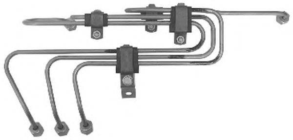Комплект трубопровода высокого давления, система впрыска TRUCKTEC AUTOMOTIVE 01.13.148
