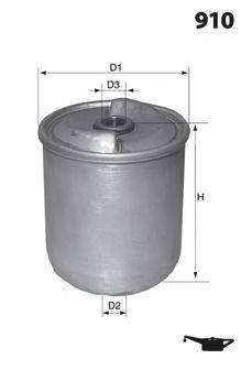 Масляный фильтр MECAFILTER EHC8400