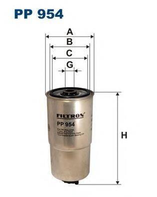 Топливный фильтр FILTRON PP954