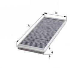 MFILTER (НОМЕР: K 903C) Фильтр, воздух во внутренном пространстве