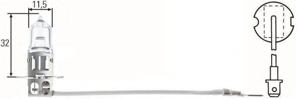 Лампа накаливания, фара рабочего освещения; Лампа накаливания, фара дальнего света; Лампа накаливания, основная фара; Лампа накаливания, противотуманная фара; Лампа накаливания; Лампа накаливания, основная фара; Лампа накаливания, фара рабочего освещения; Лампа накаливания, фара дальнего света; Лампа накаливания, противотуманная фара; Лампа накаливания, фара с авт. системой стабилизации HELLA 8GH002090133