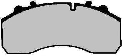 FERODO (НОМЕР: FCV1366) Комплект тормозных колодок, дисковый тормоз
