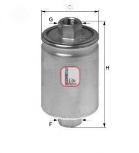 SOFIMA (НОМЕР: S 1741 B) Топливный фильтр