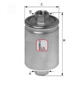 SOFIMA (НОМЕР: S 1750 B) Топливный фильтр