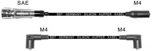 Комплект проводов зажигания BBT ZK305