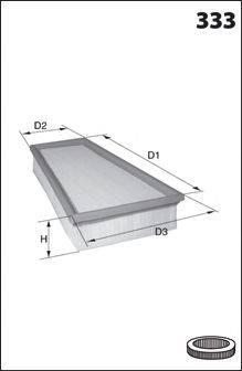 Воздушный фильтр MECAFILTER 129