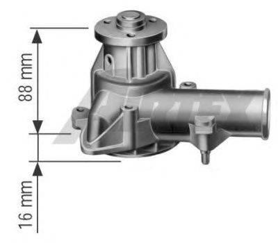 Водяной насос AIRTEX 1086-M1