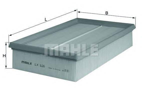 Воздушный фильтр MAHLE ORIGINAL LX526