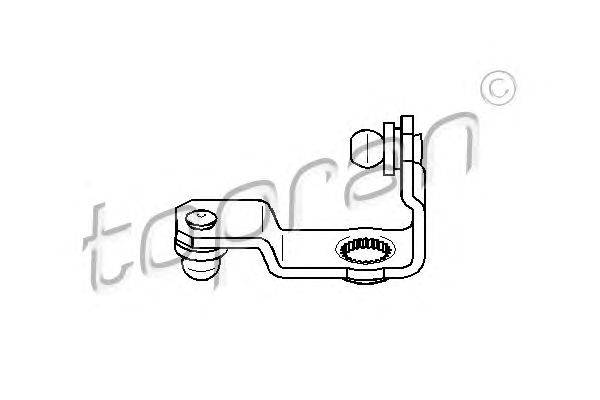 Ремкомплект, рычаг переключения TOPRAN 111317