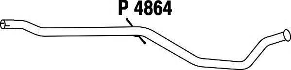 Труба выхлопного газа FENNO P4864