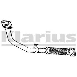 Труба выхлопного газа KLARIUS 120427