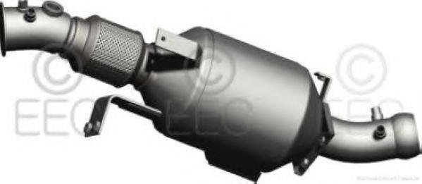 Сажевый / частичный фильтр, система выхлопа ОГ EEC DPF028