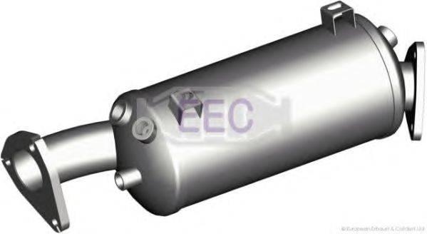 Сажевый / частичный фильтр, система выхлопа ОГ EEC DPF020