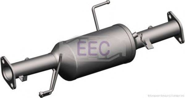 Сажевый / частичный фильтр, система выхлопа ОГ EEC DPF032