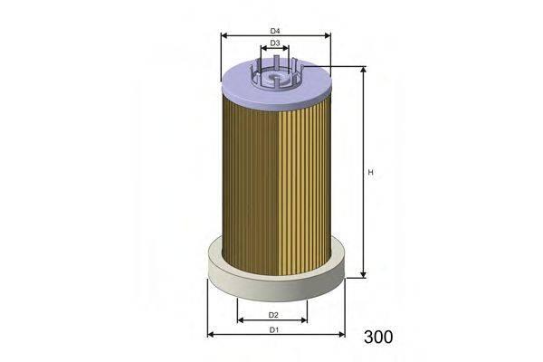 Топливный фильтр MISFAT F001