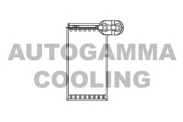 Теплообменник, отопление салона AUTOGAMMA 103329