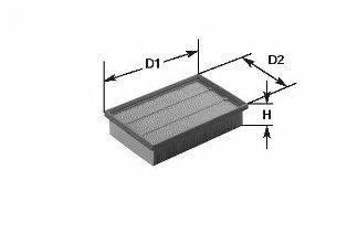 CLEAN FILTERS (НОМЕР: MA 460) Воздушный фильтр