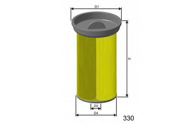 Топливный фильтр MISFAT F005