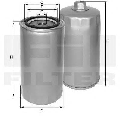 FIL FILTER (НОМЕР: ZP 540 B) Масляный фильтр